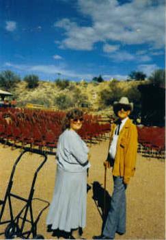 Travis & Wife Rosemarie